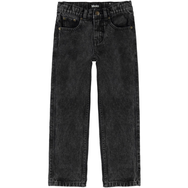 Andy Woven Pants Washed Black