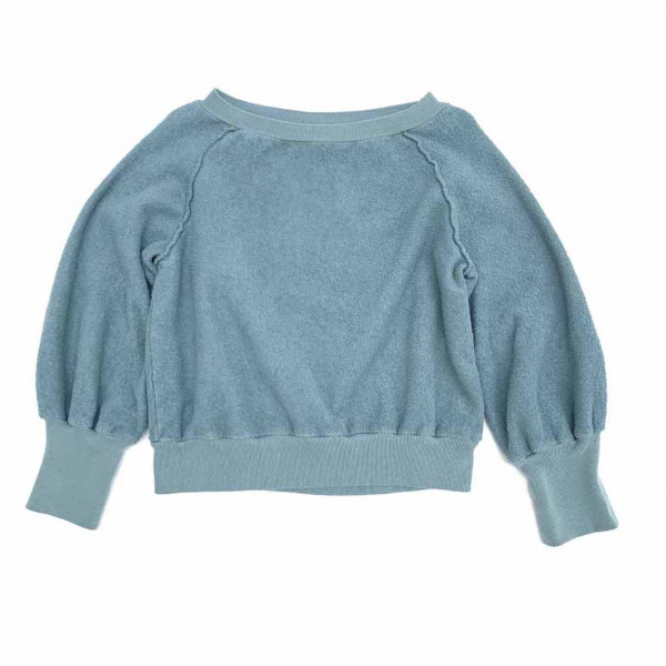 Terry Sweater Old Blue