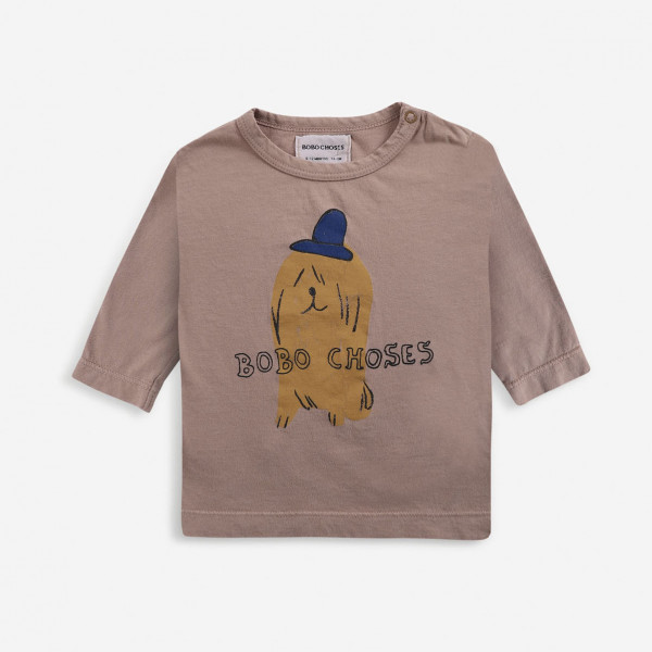 Dog In The Hat Long Sleeve Baby T-shirt