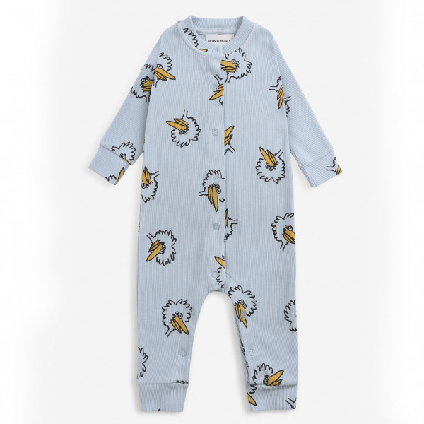 Birdie All Over Baby Overall