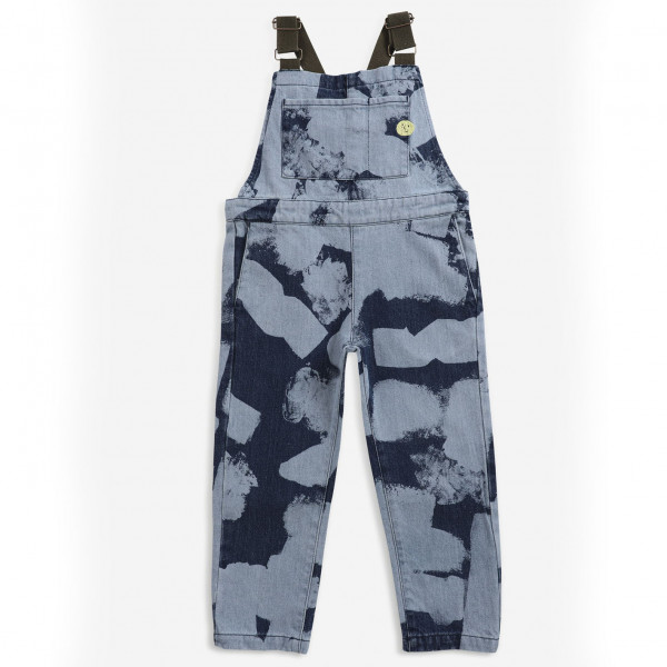 Painting All Over Denim Dungaree