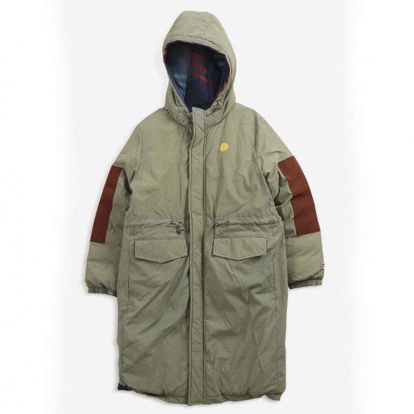 Scratch All over Reversible Parka