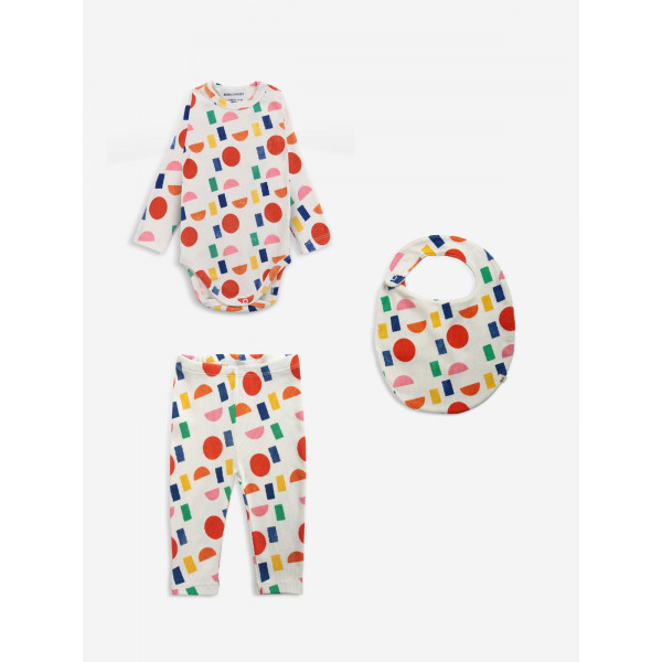 Color Play Allover Baby Set