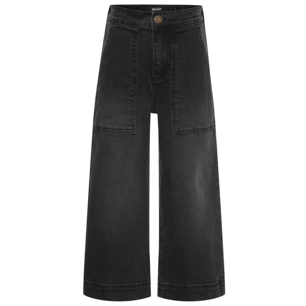 Alyna Woven Pants Washed Black