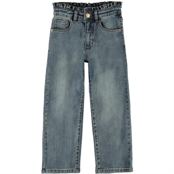 Astrid Woven Pants Tinted Blue