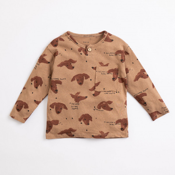 Printed Jersey T-Shirt Paper