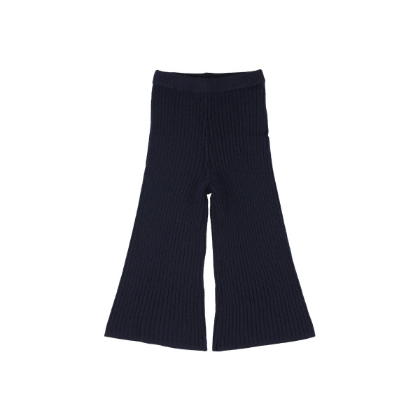 Ona Wool Navy Trousers