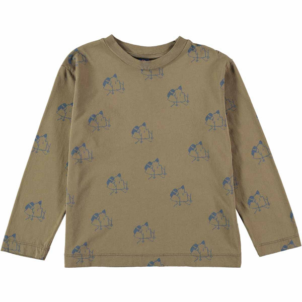 T-shirt All Over Trekking Taupe