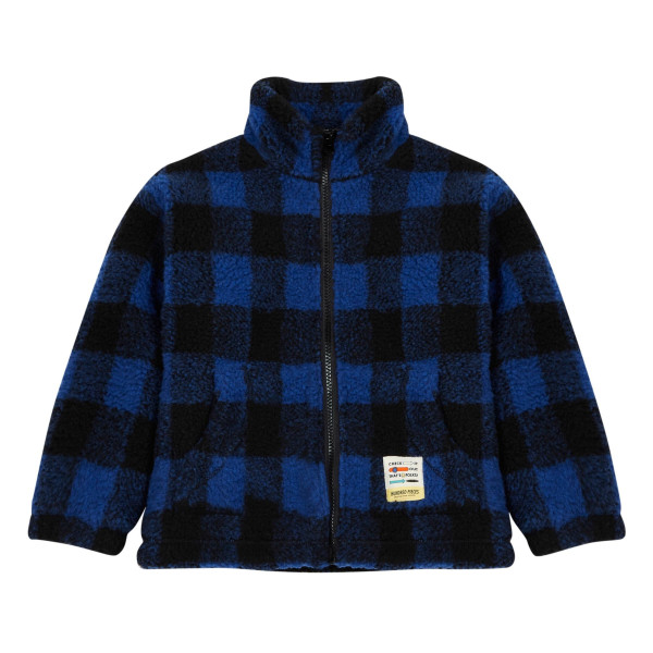 Checked Jacket Blue