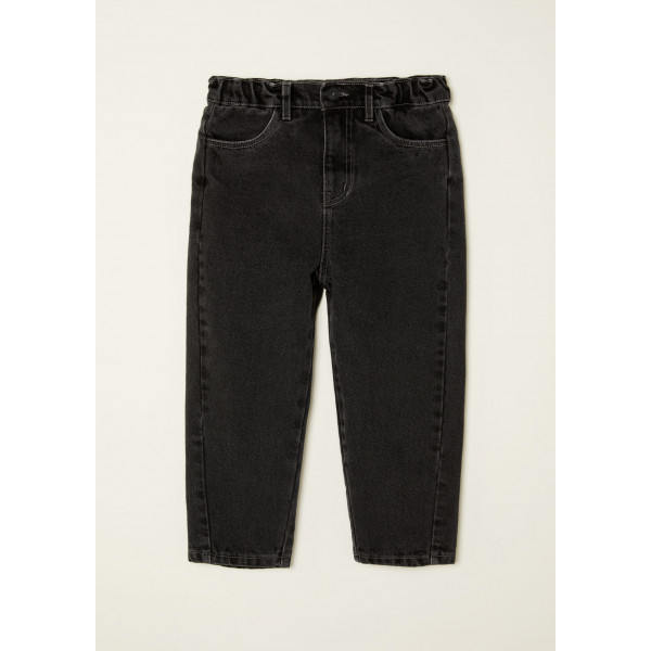 Tapered Jeans Washed Black