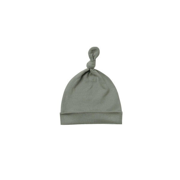 Knotted Baby Hat Basil