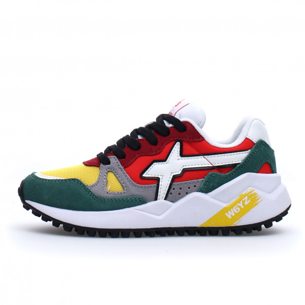 Sneaker Wolf Musk Yellow Red