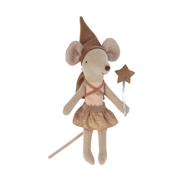 Tooth Fairy Mouse in Matchbox, Big Sister Rose