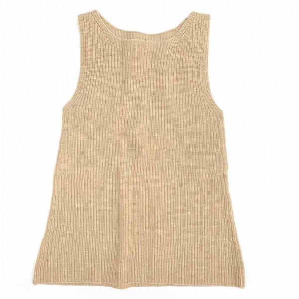 Knitted Dress Olive Sand