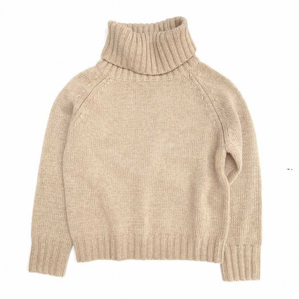 Sweater With Coll Sand