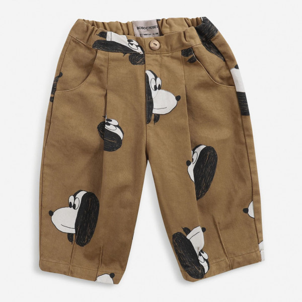 Doggie All Over Woven Baby Pants