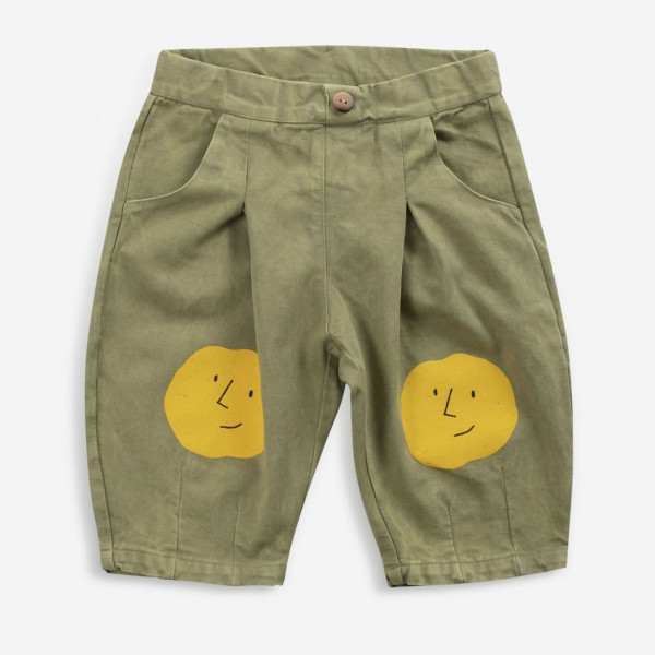 Faces Woven Baby Pants