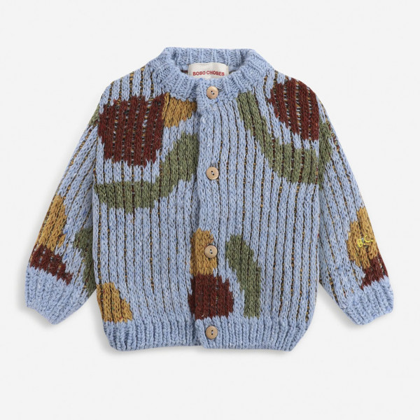 Fruits Knitted Baby Cardigan
