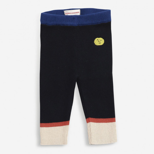 Multicolor Knitted Baby Pants