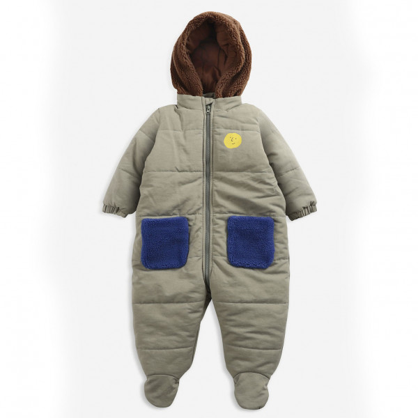 Face Multicolor Baby Overall