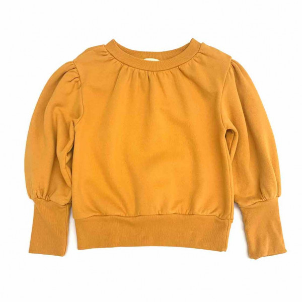 Puffed Sweater Mineral Yellow