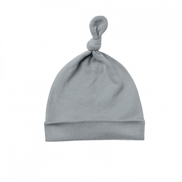Knotted Baby Hat Ocean