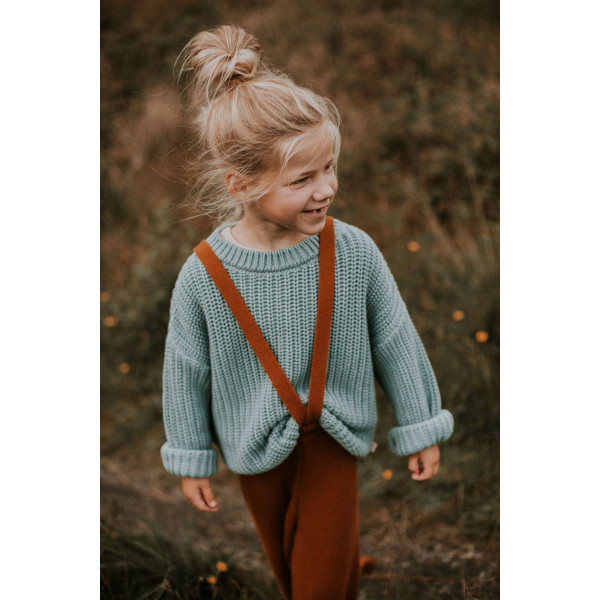 Knitted Trousers Rust